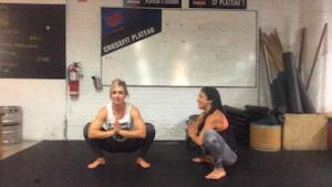 Malasana squat